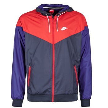 Υφασμάτινα Άνδρας Αντιανεμικά Nike WINDRUNNER MARINE / Red / μπλέ