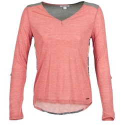 Υφασμάτινα Γυναίκα Μπλουζάκια με μακριά μανίκια Smash TIRAMISU Ροζ