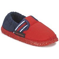 Παπούτσια Αγόρι Παντόφλες Giesswein AICHACH Red / Marine