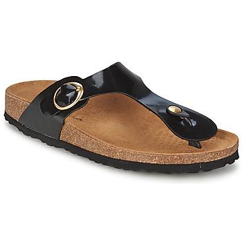Παπούτσια Γυναίκα Σαγιονάρες Casual Attitude PILTOBLE Black / VERNI