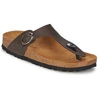 Παπούτσια Γυναίκα Σαγιονάρες Casual Attitude PILTOBLE Brown / Ματ