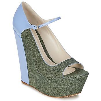 Παπούτσια Γυναίκα Γόβες John Galliano S54261 Μπλέ / Green