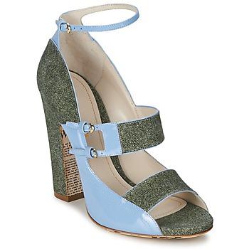 Παπούτσια Γυναίκα Σανδάλια / Πέδιλα John Galliano A54250 μπλέ / Green