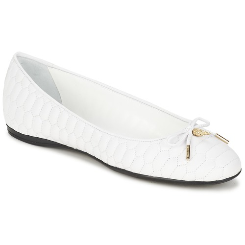 Παπούτσια Γυναίκα Μπαλαρίνες Roberto Cavalli XPS151-PN119 Άσπρο