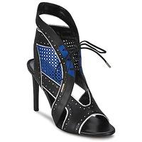 Παπούτσια Γυναίκα Σανδάλια / Πέδιλα Roberto Cavalli XPS254-PZ448 Black / Μπλέ