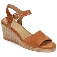 Παπούτσια Γυναίκα Σανδάλια / Πέδιλα n.d.c. LAS SALINAS Cognac