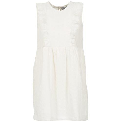 Υφασμάτινα Γυναίκα Κοντά Φορέματα Compania Fantastica HETRE ECRU
