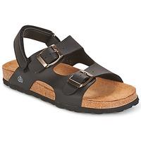 Παπούτσια Αγόρι Σανδάλια / Πέδιλα Citrouille et Compagnie BALDODE Black / Matt