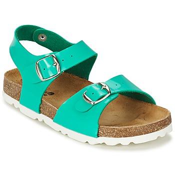 Παπούτσια Κορίτσι Σανδάλια / Πέδιλα Citrouille et Compagnie RELUNE TURQUOISE / Charol