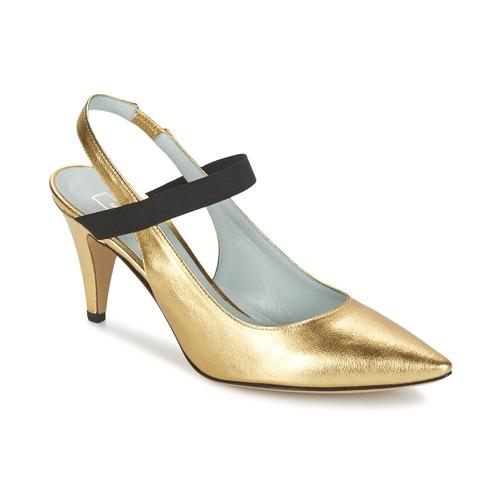 Παπούτσια Γυναίκα Γόβες Marc Jacobs VALERY Gold