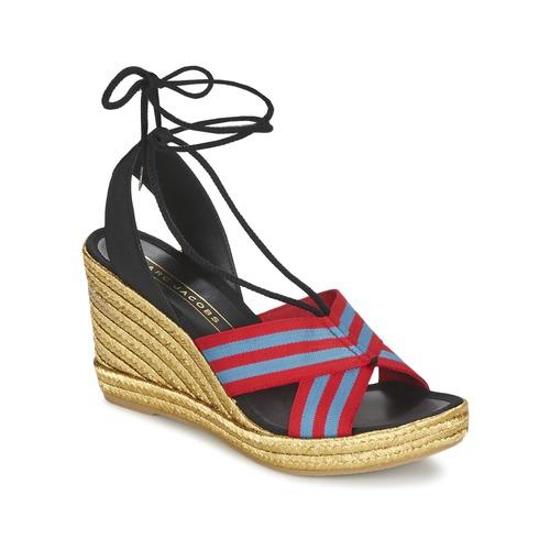 Παπούτσια Γυναίκα Σανδάλια / Πέδιλα Marc Jacobs DANI Μπλέ / Red