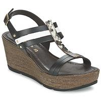 Παπούτσια Γυναίκα Σανδάλια / Πέδιλα Café Noir LAPIBO Black