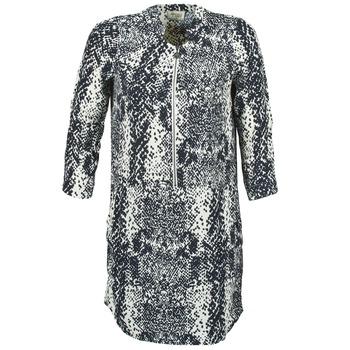 Υφασμάτινα Γυναίκα Κοντά Φορέματα Stella Forest EDERI MARINE / άσπρο