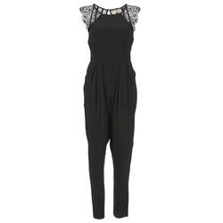Υφασμάτινα Γυναίκα Ολόσωμες φόρμες / σαλοπέτες Stella Forest ONDONI Black