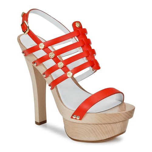 Παπούτσια Γυναίκα Σανδάλια / Πέδιλα Versace DSL943T Red