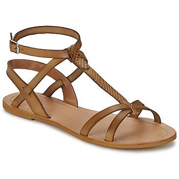 Παπούτσια Γυναίκα Σανδάλια / Πέδιλα So Size BEALO Brown