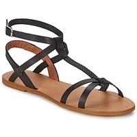 Παπούτσια Γυναίκα Σανδάλια / Πέδιλα So Size BEALO Black