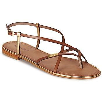 Παπούτσια Γυναίκα Σανδάλια / Πέδιλα Les Tropéziennes par M Belarbi MONACO Tan / Dore