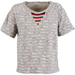 Υφασμάτινα Γυναίκα T-shirt με κοντά μανίκια Manoush ETNIC SWEAT Grey