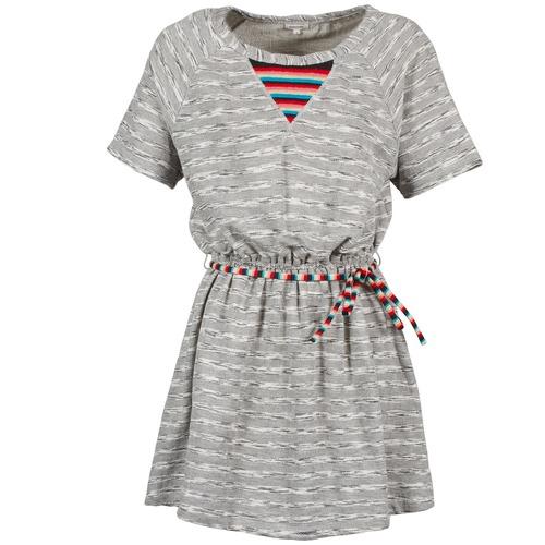Υφασμάτινα Γυναίκα Κοντά Φορέματα Manoush ETNIC Grey