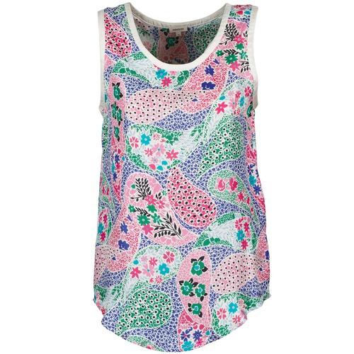 Υφασμάτινα Γυναίκα Αμάνικα / T-shirts χωρίς μανίκια Manoush PAISLEY RETRO Multicolour