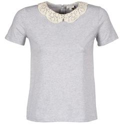 Υφασμάτινα Γυναίκα T-shirt με κοντά μανίκια Manoush T-SHIRT Grey