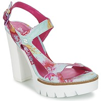 Παπούτσια Γυναίκα Σανδάλια / Πέδιλα Desigual VENICE TURQUOISE / ροζ