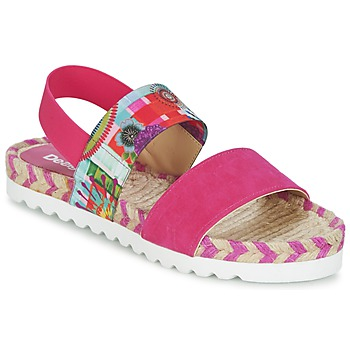 Παπούτσια Γυναίκα Σανδάλια / Πέδιλα Desigual FORMENTERA ροζ