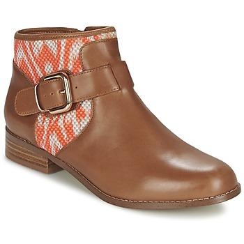 Παπούτσια Γυναίκα Μπότες Mellow Yellow VABEL Brown / Orange