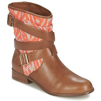 Παπούτσια Γυναίκα Μπότες Mellow Yellow VABELO Brown / Orange
