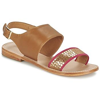 Παπούτσια Γυναίκα Σανδάλια / Πέδιλα Mellow Yellow VADELI CAMEL