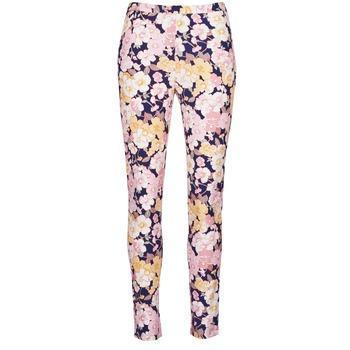 Υφασμάτινα Γυναίκα Παντελόνια Πεντάτσεπα Gant 414705 Ροζ / Μπλέ