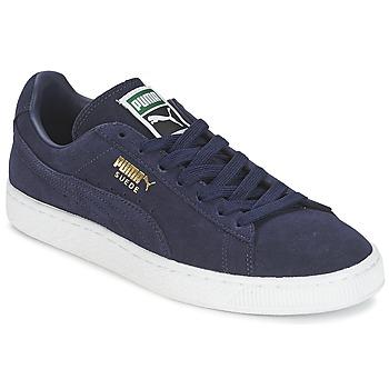 Παπούτσια Άνδρας Χαμηλά Sneakers Puma SUEDE CLASSIC + Marine