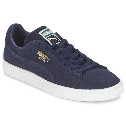 Παπούτσια Χαμηλά Sneakers Puma SUEDE CLASSIC + Marine