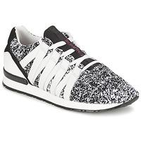 Παπούτσια Γυναίκα Χαμηλά Sneakers Serafini MIAMI Black / Άσπρο