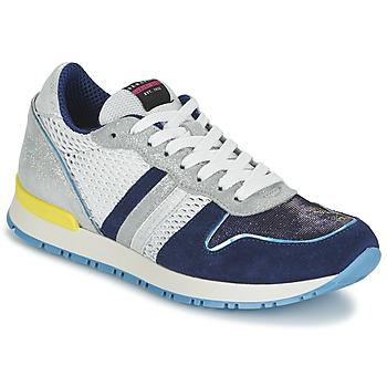 Παπούτσια Γυναίκα Χαμηλά Sneakers Serafini LOS ANGELES μπλέ / άσπρο