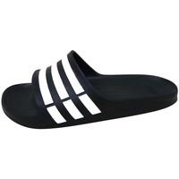 Παπούτσια Σπορ σανδάλια adidas Performance Duramo Slide Noir / Blanc / Noir