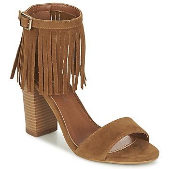 Παπούτσια Γυναίκα Σανδάλια / Πέδιλα Moony Mood ERANDA Camel
