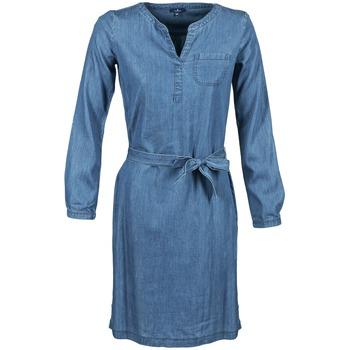 Υφασμάτινα Γυναίκα Κοντά Φορέματα Tom Tailor JANTRUDE Μπλέ / Medium