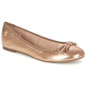 Παπούτσια Γυναίκα Μπαλαρίνες Menbur ZINNA ροζ / ΧΡΥΣΟ