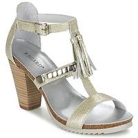 Παπούτσια Γυναίκα Σανδάλια / Πέδιλα Regard ROKOLO Platinum