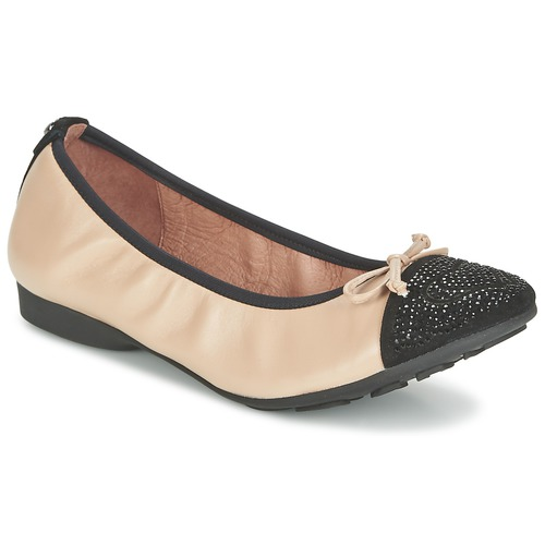 Παπούτσια Γυναίκα Μπαλαρίνες Mam'Zelle NUPO Beige / Black