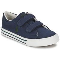 Παπούτσια Παιδί Χαμηλά Sneakers Polo Ralph Lauren HARRISON EZ Μπλέ