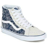 Παπούτσια Ψηλά Sneakers Vans SK8-HI REISSUE Bandana  / μπλέ / άσπρο