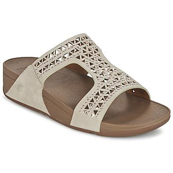 Παπούτσια Γυναίκα Τσόκαρα FitFlop CARMEL SLIDE Beige