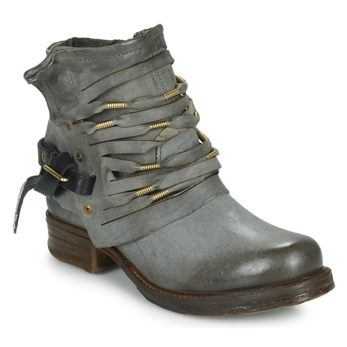 Παπούτσια Γυναίκα Μπότες Airstep / A.S.98 SAINT Black / Fume