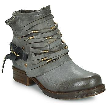 Μποτάκια / Low boots Airstep / A.S.98 SAINT Black / FUME 350x350