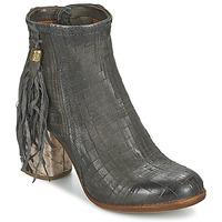 Παπούτσια Γυναίκα Μποτίνια Airstep / A.S.98 ODELL Black / Fume