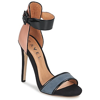 Παπούτσια Γυναίκα Σανδάλια / Πέδιλα Ravel Pansy Nude / Μαυρο