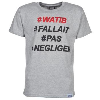 Υφασμάτινα Άνδρας T-shirt με κοντά μανίκια Wati B NEGLIGER Grey